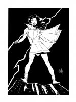 Mary Marvel: Cully Hamner Comic Art