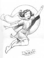 Mary Marvel: Steve Mannion Comic Art