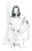 Mary Marvel : Michael McDaniel / James Taylor Comic Art