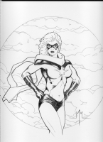 Ms. Marvel: Michael McDaniel Comic Art