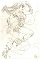 Wonder Woman : Wellinton Alves, Comic Art