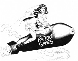 Bombshell! Pat Patriot : Greg LaRocque Comic Art