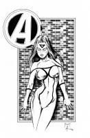 Spider-Woman (Jessica Drew) : Mitch Foust / Bob Almond Comic Art