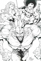 Enter the Dragons  : Ben Dunn Comic Art