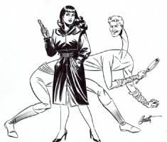 Elementary, My Dear  : Terry Beatty Comic Art