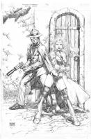 One-Way Ticket to Midnight  : Edgar Tadeo Comic Art