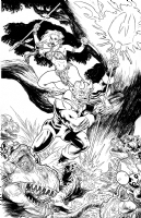 The Devil You Say!  : John Lucas Comic Art