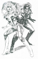 Sable Metrics  : Mike Grell Comic Art