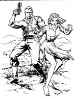 Doc Savage and Patricia Savage: Darryl Banks, Comic Art
