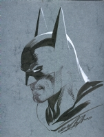 Batman Blue by Neal Adams Comic Art