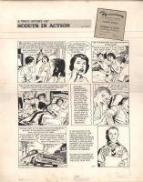 Boy Scouts - March 1964 Comic Art