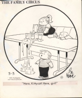 Family Circus - March 3, 1975 Comic Art