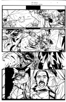 THE SHIELD #1 Page 4 Original Artwork, Comic Art