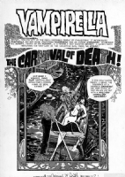 Jose Gonzalez - Vampirella #34, p.1 (Warren, 1974) Comic Art