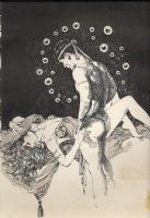 Jose Gonzalez - Vampirella #112 p. 1 (Warren, 1983) Comic Art
