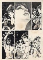 Jose Gonzalez - Vampirella #112, p. 7 (Warren, 1983) Comic Art