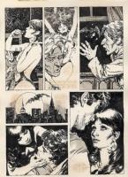 Jose Gonzalez - Vampirella #112, p. 5 (Warren, 1983) Comic Art
