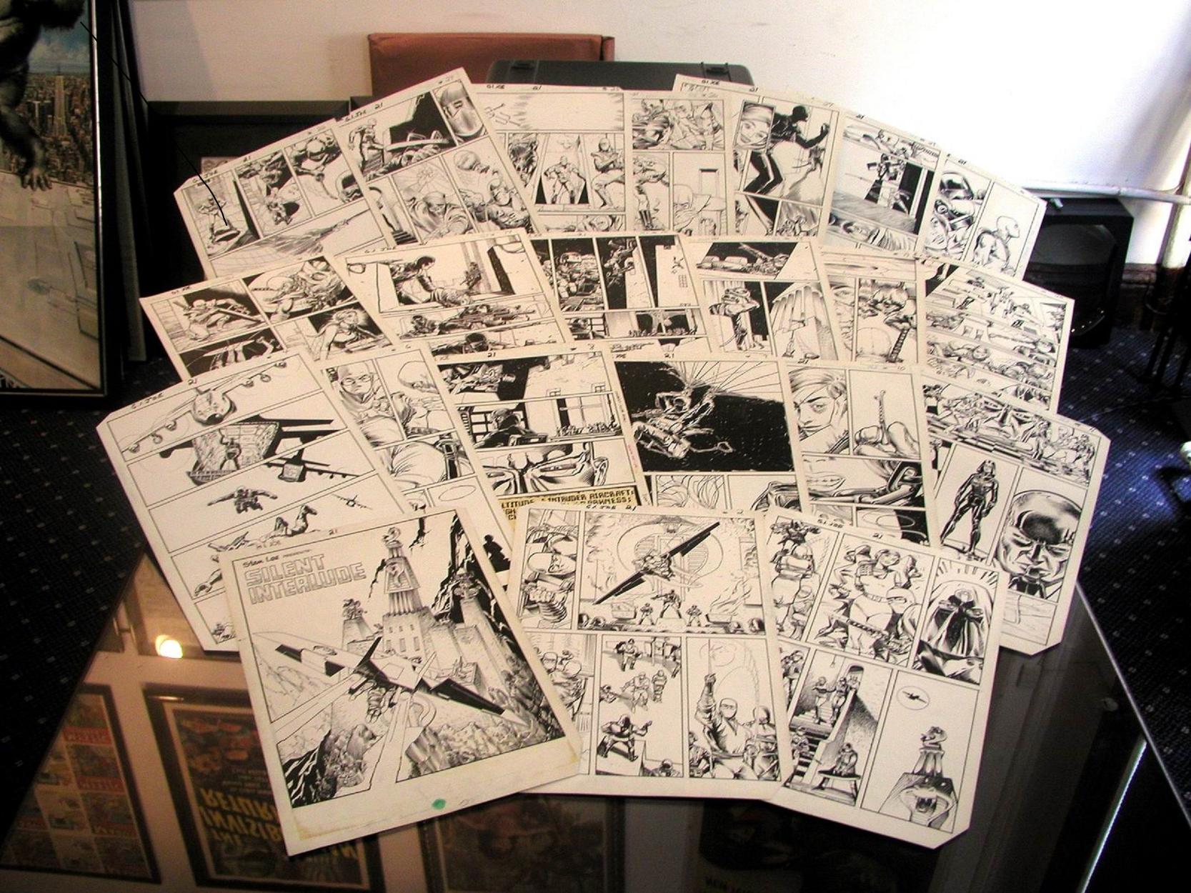 Larry Hama - G.I. Joe #21 Complete Story (Silent Interlude/1st Storm Shadow - Marvel, 1984) Comic Art