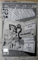 Paul Smith - Uncanny X-Men #172 Cover (Marvel, 1983) Comic Art