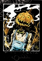 Merv Pumpkinhead 10/50, Comic Art