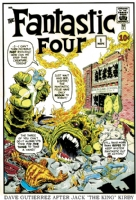 Fantastic Four #1 Cover Charity Auction, Comic Art