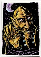 Nosferatu Sketch Card, Comic Art