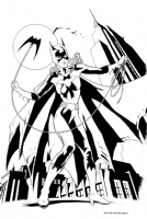 Kevin Nowlan Batgirl Comic Art
