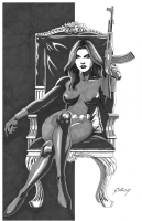 Paul Gulacy Natasha Romanov Comic Art