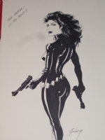 Black Widow Paul Gulacy Comic Art