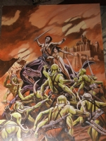 John Carter of Mars by Harry Roland Comic Art