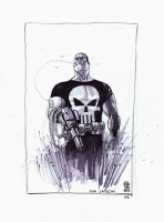 Punisher by J.G. Jones Comic Art