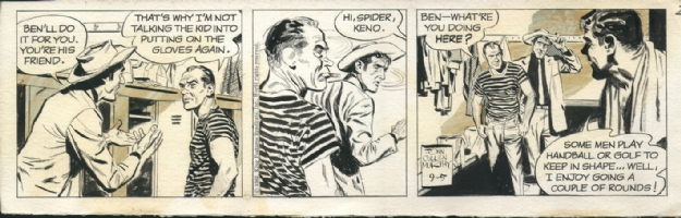 Big Ben Bolt - 09-05-1961, Comic Art