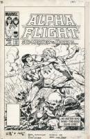 Alpha Flight 15, Comic Art