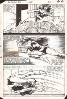 Fantastic Four 268 - She-Hulk, Torch, Comic Art