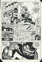 Alpha Flight 5 - Puck, Comic Art