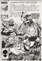 Fantastic Four 266, Comic Art