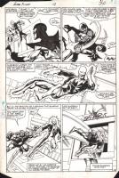 Alpha Flight - Omega Flight Battle, Comic Art