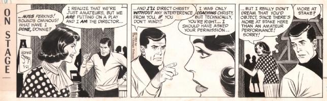 On Stage 1964-05-21, Comic Art