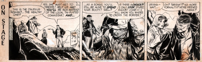 On Stage 1965-01-28, Comic Art