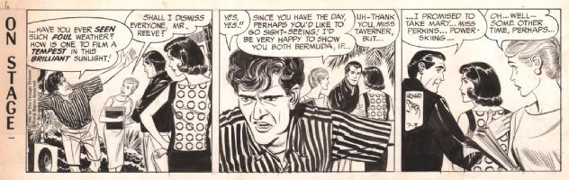 On Stage 1965-07-03, Comic Art