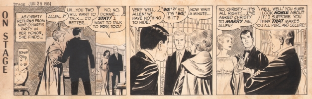 On Stage 1964-06-29, Comic Art