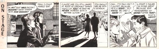 On Stage 1965-10-29, Comic Art