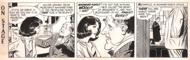 On Stage 1964-07-16, Comic Art