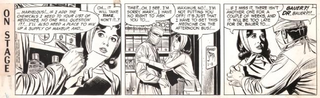 On Stage 1969-01-08, Comic Art