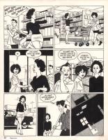 Love and Rockets Wigwam Bam, Comic Art