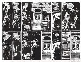 Alias DPS Bendis/Gaydos, Comic Art