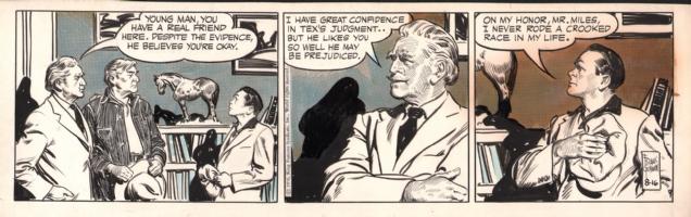 Rusty Riley 1956-08-16, Comic Art