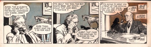 Rusty Riley 1956-08-20, Comic Art