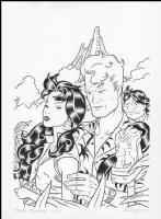 Roberto Baldazzini: Martin Mystere Comic Art