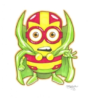 Minion Mister Miracle, Comic Art